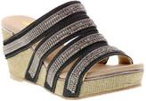 Volatile Women's Sandals PEWTER - Pewter Sardis Wedge Sandal - Women