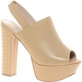 Kurt Geiger Nicole Leather Slingback Platform Sandals