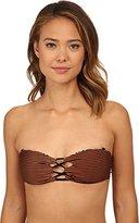 Volcom Women's Roam Free Bandeau Bikini Top