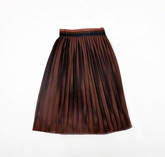 Catimini Girl's Jupe Chocolat Fille Skirt