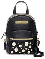 Betsey Johnson Imitation Pearl Flower Mini Backpack