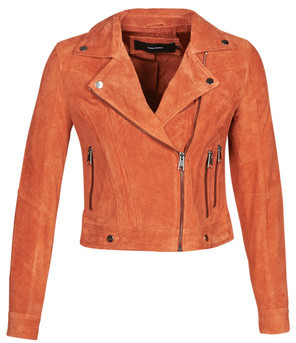 Vero Moda VMROYCESALON women's Leather jacket in multicolour
