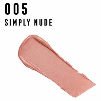 Max Factor Colour Elixir Lipstick with Vitamin E 4g (Various Shades) - 005 Simply Nude
