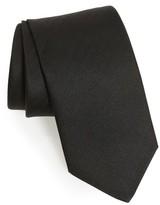 Eton Men's Herringbone Textured Silk Tie