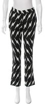 Neil Barrett Lightning Print Straight-Leg Pants w/ Tags