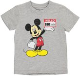 "Disney Mickey Mouse Little Boys' Toddler ""Big Brother"" T-Shirt"