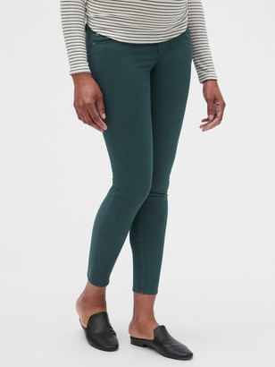 Gap Maternity Full Panel True Skinny Jeans in Color