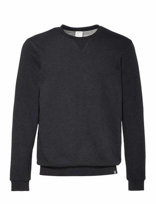 CARE OF by PUMA Men's Long Sleeve Terry Crew Neck Sweatshirt