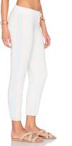 Monrow Athletic Stripe Sweatpant