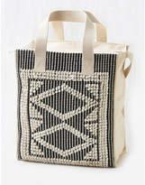 aerie Embroidered Beach Bag