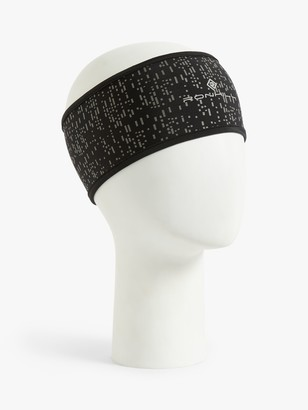 Ronhill Nightrunner Headband, Black/Reflect