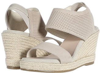 Skechers Indigo Sky - Perf Slingback Sandal (Natural) Women's Shoes