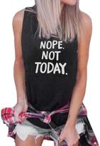 Aribelly Women Vest Casual Loose Tops Shirt Tee Tank Tops