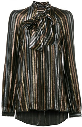 HANEY Diana stripe blouse