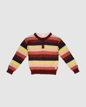 Scotch R'Belle 2-In-1 Striped Jumper and Long Sleeve Tee - Teens