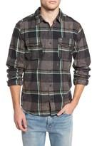 Hurley Men's Burnside Plaid Shirt