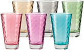 Leonardo Optic Tall Tumbler - Assorted - Set of 6