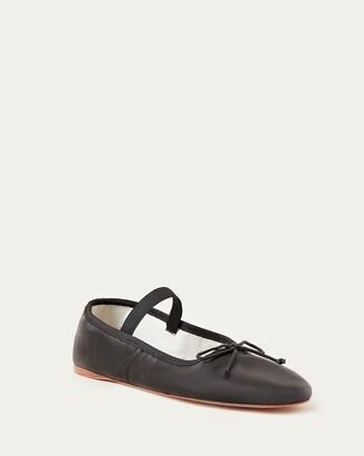 Loeffler Randall Leonie Black Ballet Flat