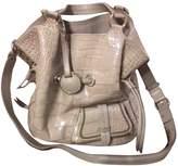 Lancel 1er Flirt Beige Leather Handbags