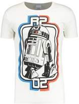 Logoshirt Star Wars Logo Print Tshirt Almost White