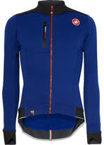 Castelli Potenza Polartec Cycling Jersey - Blue
