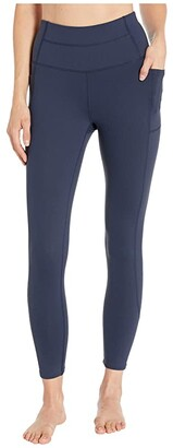 Skechers 7/8 Go Flex Go Walk High-Waist Backbend 2.0 (Black) Women's Casual Pants