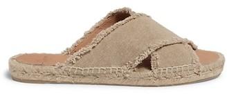 Castaner Palmera Flat Canvas Espadrille Sandals