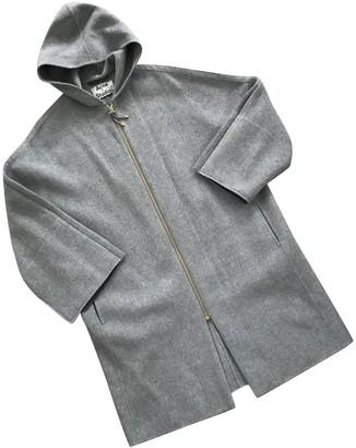 Acne Studios Grey Cashmere Coat for Women