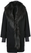 Fabiana Filippi fur trimmed coat