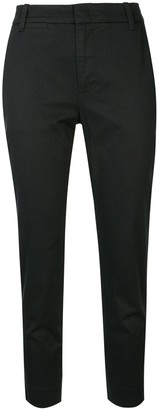 Vince Cropped Slim-Fit Chinos