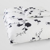 Vera Wang Ink Wash Duvet Cover, Queen
