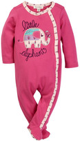 Jessica Simpson Little Elephant Footie (Baby Girls)