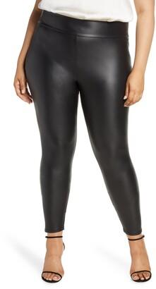 Coldesina Faux Leather Leggings