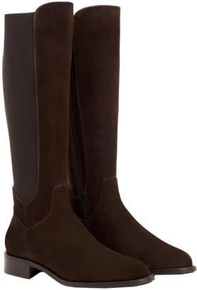 Aquatalia Nanon Weatherproof Suede Boot