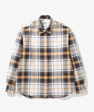 Norse Projects Ulrikke Check Cotton Shirt - cotton | 38