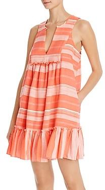 Lemlem Birtukan Bib Mini Dress