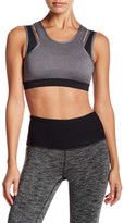 Central Park West Colorblock Sports Bra