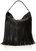 Madden-Girl Mgpulse Fringe Hobo Shoulder Bag