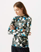 Jigsaw Floral Thistle Jersey Top