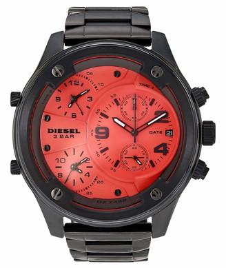 Diesel Men's Boltdown Quartz Watch with Stainless Steel Strap