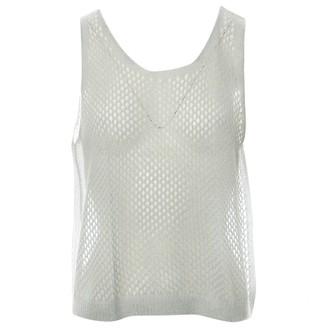 Prada Grey Cashmere Top for Women