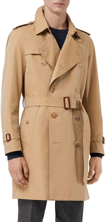 bbb1e665082 Beige Trenchcoat Men - ShopStyle