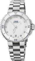Oris 73376524191mb Diving stainless steel and diamond watch