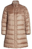 Thumbnail for your product : Marina Rinaldi, Plus Size Petalo Quilted Longline Coat