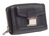 Moschino Jc5549 0000 Black Zip Around Wallet.