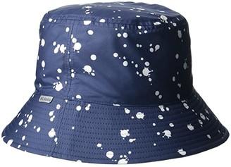 Columbia Kids Pixel Grabbertm Bucket Hat (Big Kids) (Nocturnal Splattery/Cactus Pink/Nocturnal) Bucket Caps