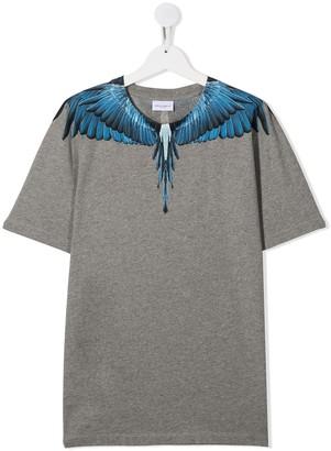 Marcelo Burlon County Of Milan Kids wings print T-shirt