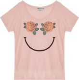 Wildfox Couture Happy Roses Cotton Jersey Tee