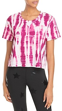 Nanette Lepore Play Aztec Tie Dye Boxy Tee (47% off)- Comparable value $38