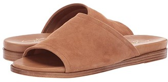 Massimo Matteo Suede Slide (Noce Suede) Women's Slide Shoes